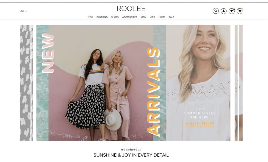 roolee ecommerce website review