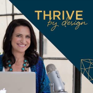 Thrive by Design podcast cover